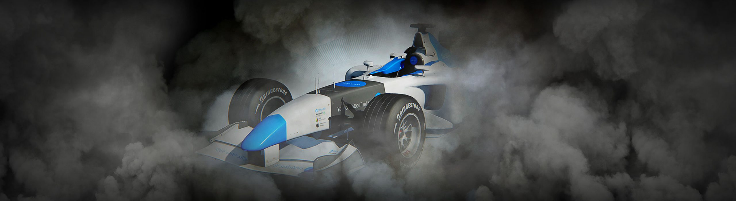 Blue Spot F1 Simulator