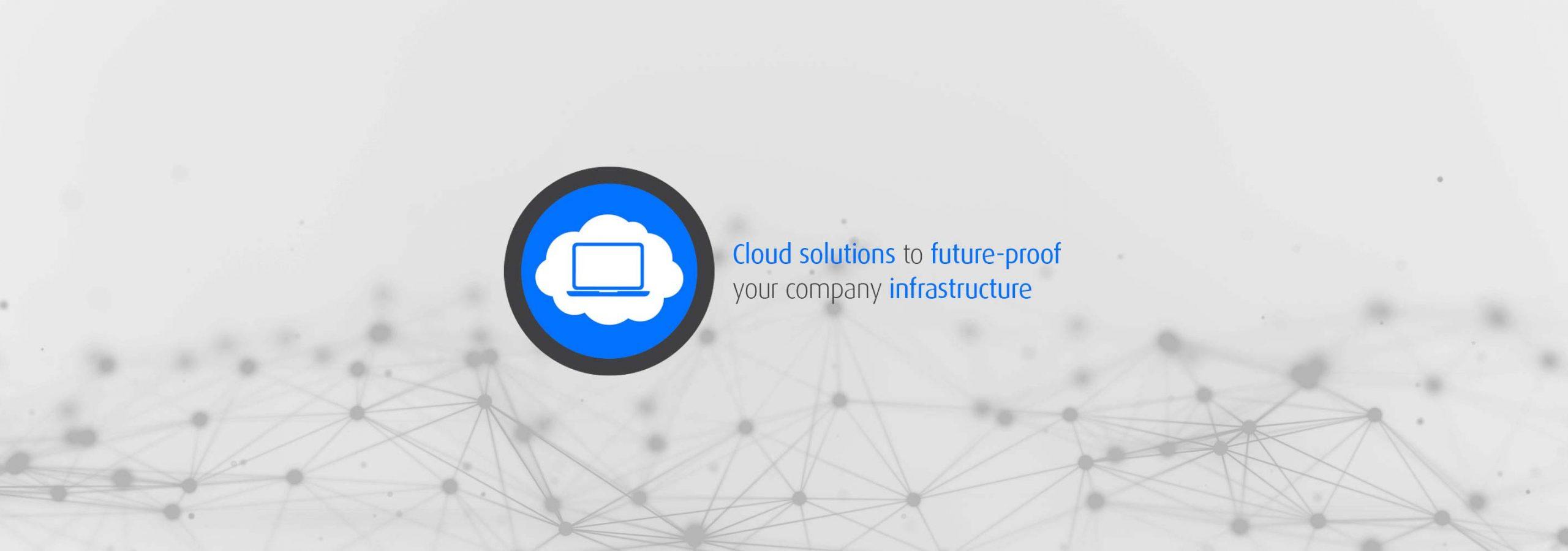 Cloud solutions homepage slide