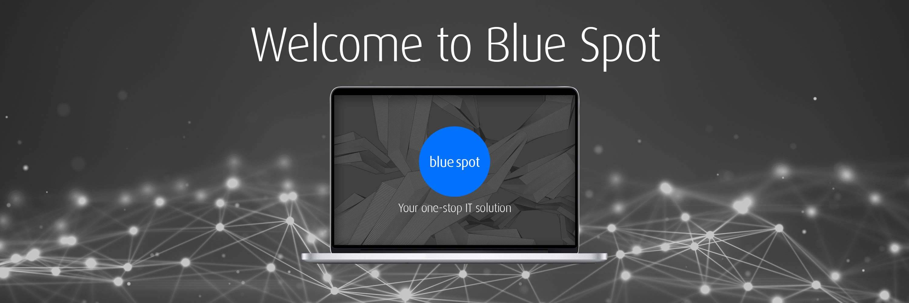 Blue Spot Computers homepage main image