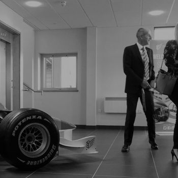 F1 simulator tyre