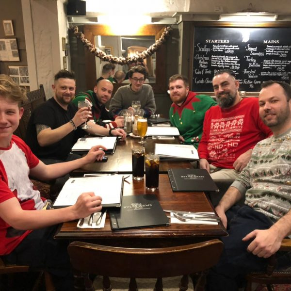 Team christmas meal 2017