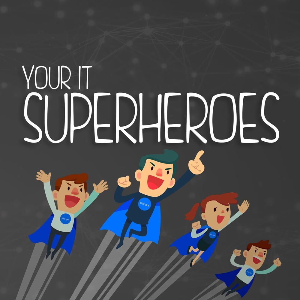 Business IT Support superheroes