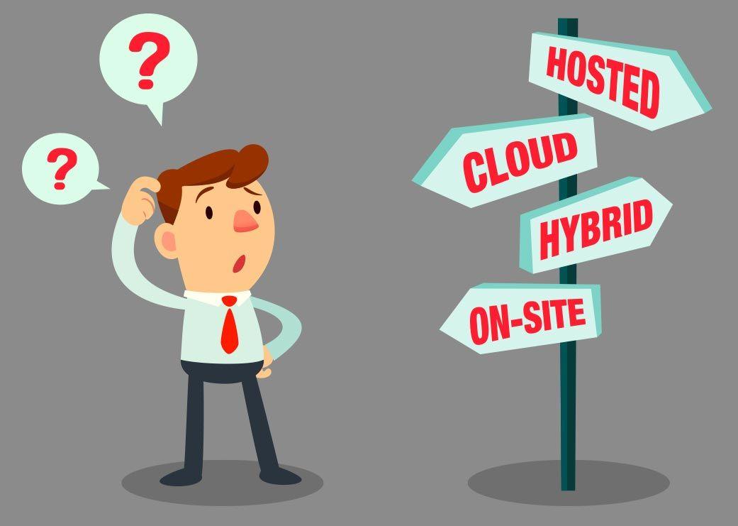 Business server choices